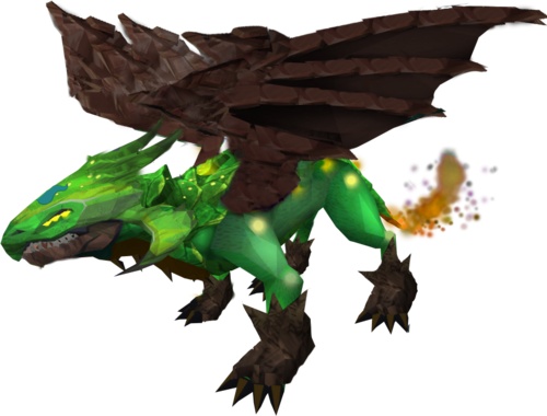 Guthix dragon