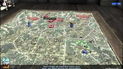 RUSE Mission 18 Blood 'N Guts Gameplay Hard (Wargamer) Difficulty (2 2)
