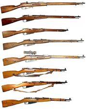 Mosin Nagant series of rifles