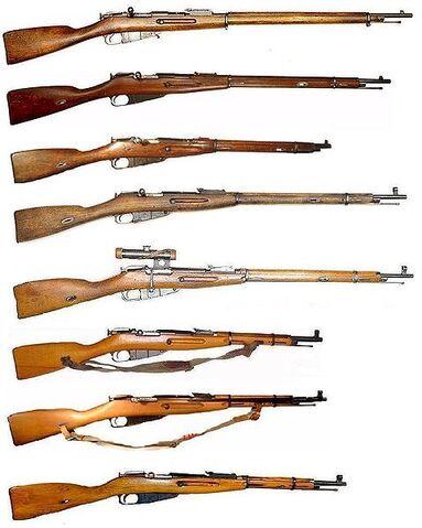 File:Mosin Nagant series of rifles.jpg