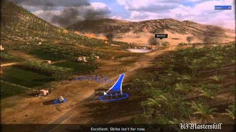RUSE Mission 2 Taking Command Gameplay Hard (Wargamer) Difficulty (1 2)