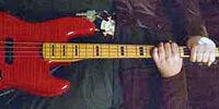 1993 Fender Jazz Bass, Red