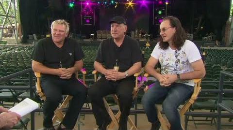 CNN Official Interview Legendary rock band, Rush