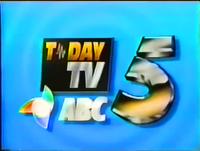 ABC 5 Logo ID August 1992