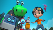 Rusty Rivets - Main Characters Cast in Rusty Rocks 3