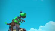 Rusty Rivets - Botasaur in Rusty's Balloon Blast 2