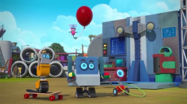 File:Rusty Rivets - Ray, Whirly, Crush and Jack the Bits - Characters in Rusty Rocks 1.png