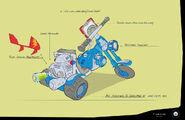 Rusty Rivets Spin Master Nickelodeon Bike Development Sketch