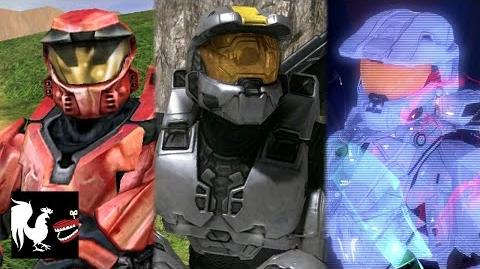 The Complete, Unabridged Story of Red vs Blue. Abridged.