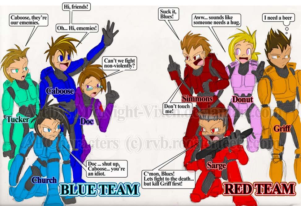 Image - Red Vs Blue.jpg.jpg | Red vs. Blue Wiki | FANDOM powered by Wikia