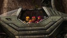Reds behind Warthog