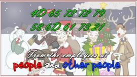Christmas 2006, 2007 psa