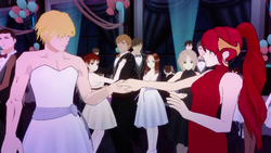V2e7 jaune and pyrrha dance