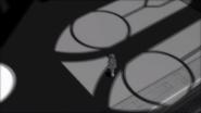 White trailer weiss in shadow