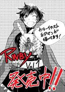 Tribute art release of Ruby Rose for RWBY Manga Anthology Red Like Roses by Mio Shiki