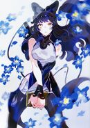 Blake (RWBY Official Japanese Fanbook, Illustration,Shimazaki Maki)