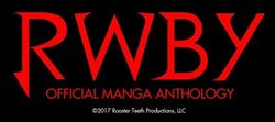RWBY Manga Anthology title