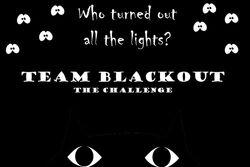 Team blackout flag