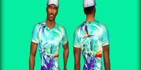 4 Male T-shirts by blvcklifesimz