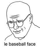 Le baseball face