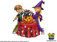 Sabrina The Animated Series halloween wallpaper
