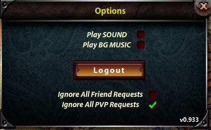 V0.933 Options