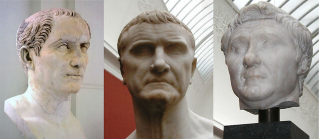 File:First Triumvirate of Caesar, Crassius and Pompey.jpg
