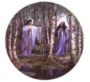 654px-Stephen Hickman - Aragorn and Arwen