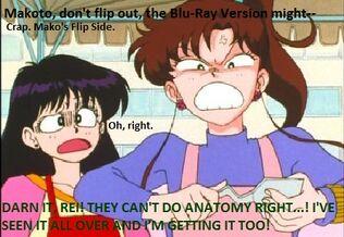 Rage Quittin' Makoto!