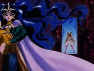 Nehellenia taking away Mamoru