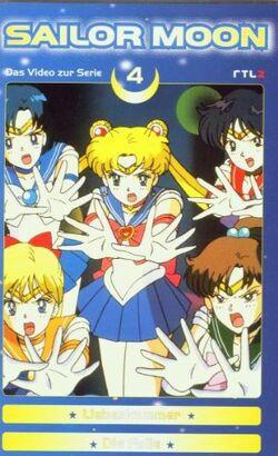 Sailor Moon Vol. 4 - German VHS