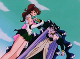 Jupiter preventing queen attack