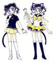 Sailor Luna in the Original design