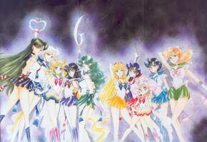 All 10 super senshi artbook 3 cover