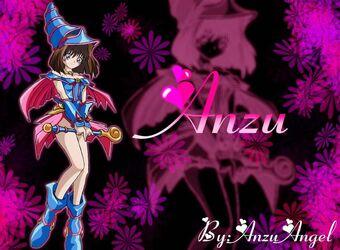 Dark Magician Anzu Wallpaper by AnzuAngel