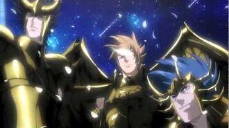 聖闘士星矢(saint seiya) THE LOST CANVAS 冥王神話 第2章 オープニング映像