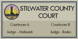 Stilwater County Court plaque