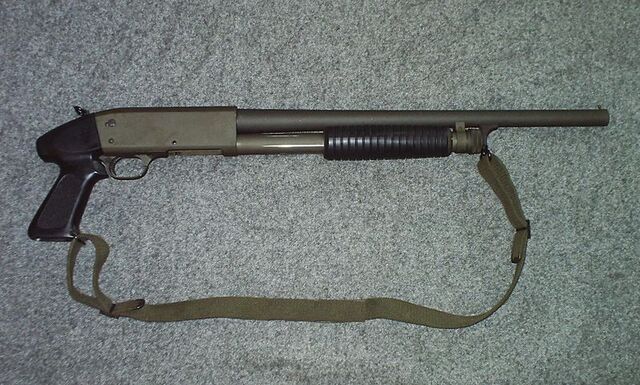 File:Pump-Action Shotgun - Ithaca 37 in real life.jpg