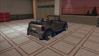 Saints Row variants - Halberd - Sports T - rear right