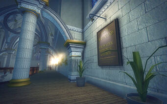 Saints Row Church - upstairs plague