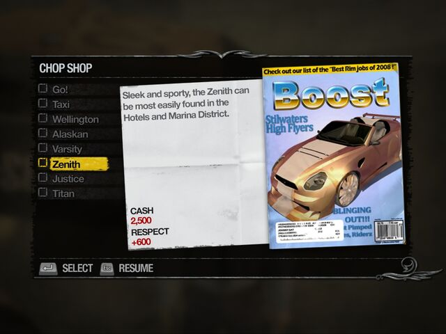 File:Zenith - Downtown Chop Shop list in Saints Row 2.jpg
