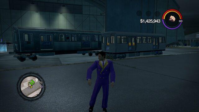 File:El Train - outside garage via modding in Saints Row 2.jpg