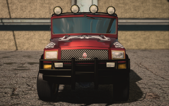 Saints Row IV variants - Swindle BH (with decals) - front