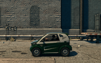 Emu - left in Saints Row The Third