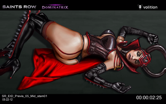 Escape the Dominatrix - Dominatrix dead concept art