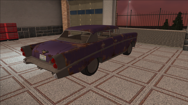 File:Saints Row variants - Hollywood - BeaterPurple1 - rear right.png