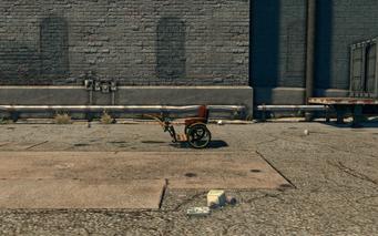 Pony Cart - left in Saints Row The Third