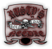 Saints Row 2 clothing logo - rustys