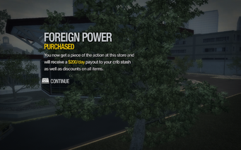 Foreign Power in Humbolt Park purchased in Saints Row 2