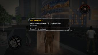 GPS Waypoint Pause menu tutorial in Saints Row 2